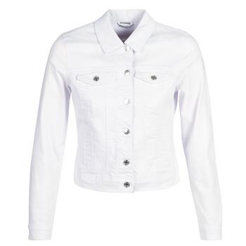 Textil Ženy Riflové bundy Vero Moda VMHOT SOYA Bílá