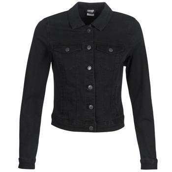 Textil Ženy Riflové bundy Vero Moda VMHOT SOYA Černá