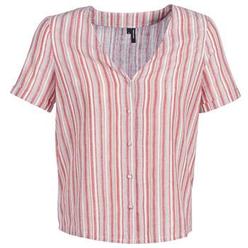 Textil Ženy Halenky / Blůzy Vero Moda VMESTHER Červená