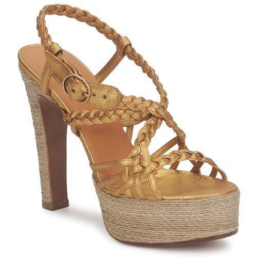 Boty Ženy Sandály Michel Perry 12716 Zlatá