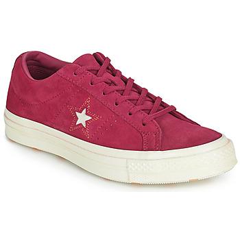 Boty Ženy Nízké tenisky Converse ONE STAR LOVE IN THE DETAILS SUEDE OX Fuchsiová