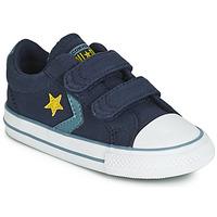 Boty Děti Nízké tenisky Converse STAR PLAYER 2V CANVAS OX Modrá