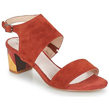 Boty Ženy Sandály Metamorf'Ose EMBARQUA Červená