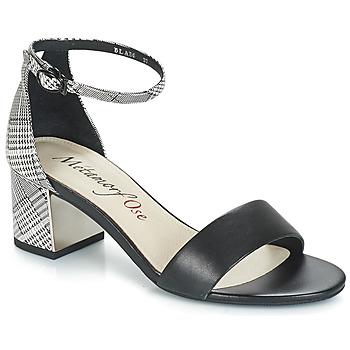 Boty Ženy Sandály Metamorf'Ose EMBRASA Černá