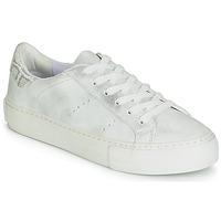 Boty Ženy Nízké tenisky No Name ARCADE Bílá / Stříbřitá