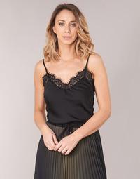 Textil Ženy Halenky / Blůzy Ikks BN11105-02 Černá