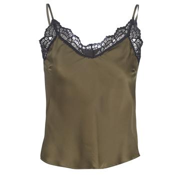 Textil Ženy Halenky / Blůzy Ikks BN11105-56 Khaki