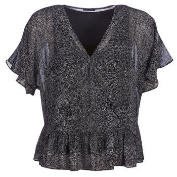 Textil Ženy Halenky / Blůzy Ikks BN11175-02 Černá