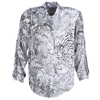 Textil Ženy Košile / Halenky Ikks BN12085-11 Bílá / Černá