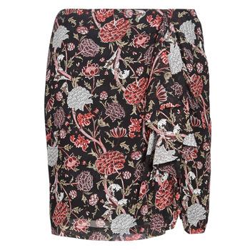 Textil Ženy Sukně Ikks BN27105-02 Černá / Vícebarevná