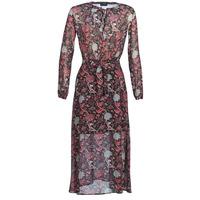 Textil Ženy Společenské šaty Ikks BN30065-02 Černá / Červená / Šedá
