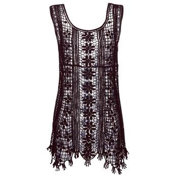 Textil Ženy Krátké šaty Banana Moon JOSY DREAMLAND Černá