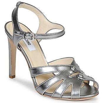 Boty Ženy Sandály Moschino MA1604 Stříbrná