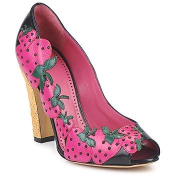 Boty Ženy Lodičky Moschino Cheap & CHIC ALBIZIA Růžová-černá-zelená