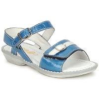 Boty Dívčí Sandály GBB CARAIBES FIZZ Modrá / Bílá