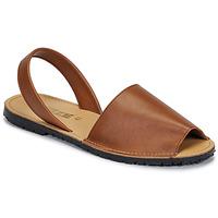 Boty Ženy Sandály So Size LOJA Hnědá