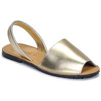 Boty Ženy Sandály So Size LOJA Zlatá