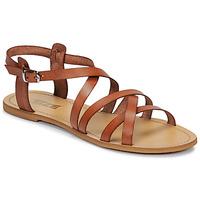 Boty Ženy Sandály So Size IDITRON Hnědá