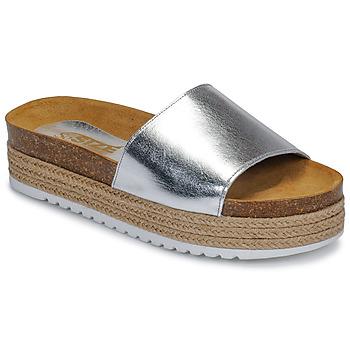 Boty Ženy Dřeváky So Size JITRUNE Stříbrná