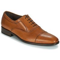 Boty Muži Šněrovací společenská obuv So Size INDIANA Hnědá