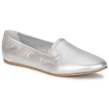 Boty Ženy Mokasíny Rochas RO18101 Stříbrná