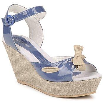 Boty Ženy Sandály Regard RAGE Modrá