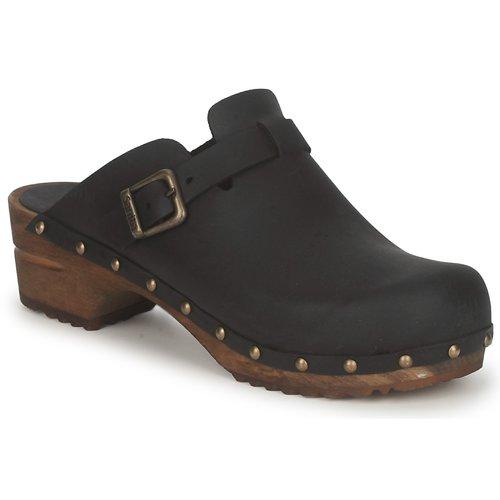 Boty Ženy Pantofle Sanita KRISTEL OPEN Černá