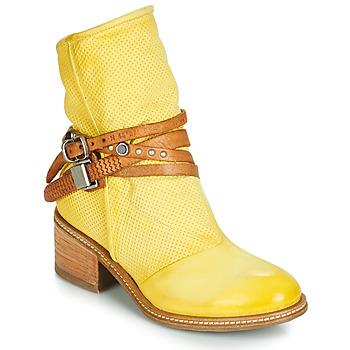 Boty Ženy Kotníkové boty Airstep / A.S.98 WINNIE STRAP Žlutá
