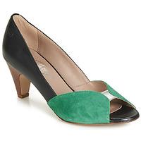 Boty Ženy Lodičky Betty London JIKOTIZE Černá / Zelená