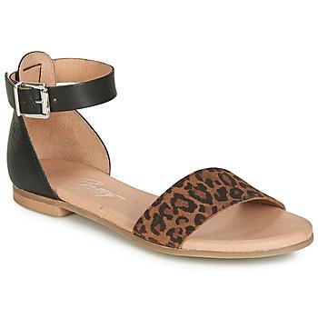 Boty Ženy Sandály Betty London JIKOTIRE Černá