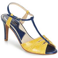 Boty Ženy Sandály Ippon Vintage DROP BACK Tmavě modrá / Žlutá