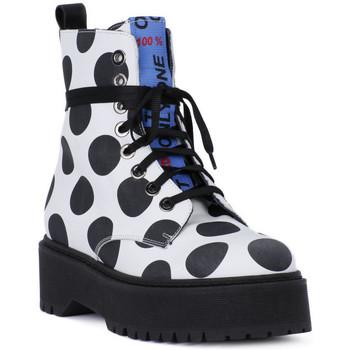 Boty Muži Kotníkové boty At Go GO  BIG POIS NERO Bianco