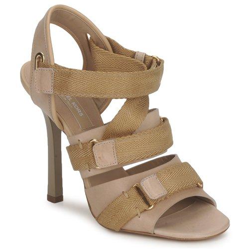 Boty Ženy Sandály Michael Kors MK118113 Barva pouště / Béžová