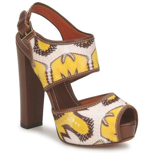 Boty Ženy Sandály Missoni TM81 Hnědá / Béžová / Žlutá
