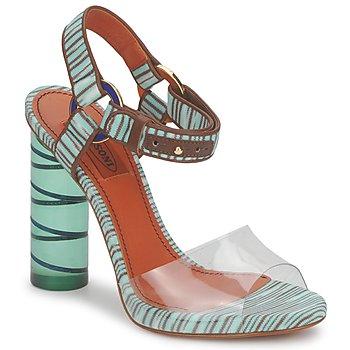 Boty Ženy Sandály Missoni TM63 Modrá
