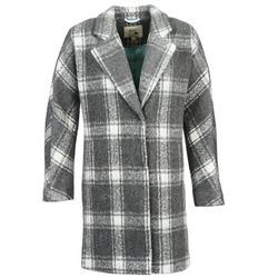 Textil Ženy Kabáty Yumi EHIME Bílá / Šedá