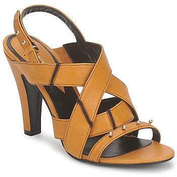 Boty Ženy Sandály Karine Arabian DOLORES Žlutá šafránová-černá