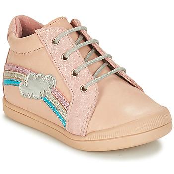 Boty Dívčí Kotníkové boty André ONDEE Růžová
