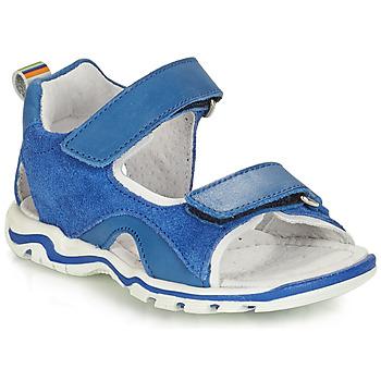 Boty Chlapecké Sandály André PLANCTON Modrá