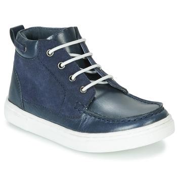 Boty Chlapecké Kotníkové boty André PIRATE Tmavě modrá