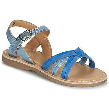 Boty Chlapecké Sandály André AZUR Modrá