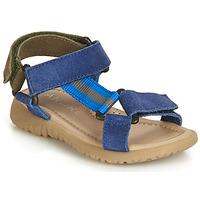 Boty Chlapecké Sandály André SUEZ Modrá