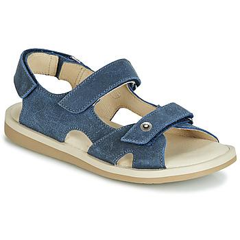 Boty Chlapecké Sandály André CANNOT Tmavě modrá
