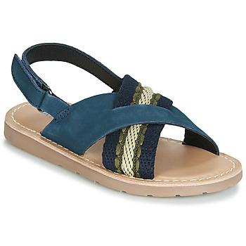 Boty Chlapecké Sandály André GABRIEL Tmavě modrá