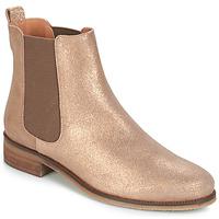 Boty Ženy Kotníkové boty André CHATELAIN Zlatá