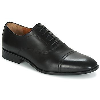 Boty Muži Šněrovací společenská obuv André BLINK Černá