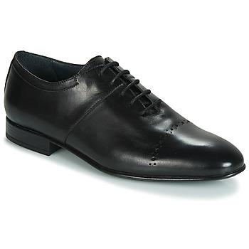 Boty Muži Šněrovací společenská obuv André REMUS Černá