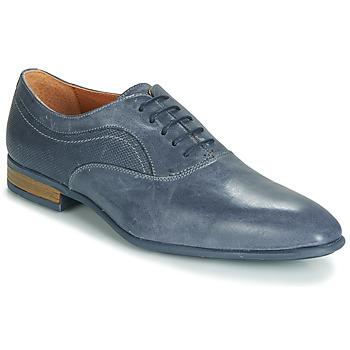 Boty Muži Šněrovací společenská obuv André SILVERSTONE Modrá