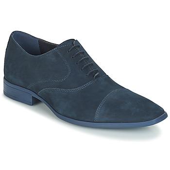 Boty Muži Šněrovací společenská obuv André LAMPEDUSA Modrá