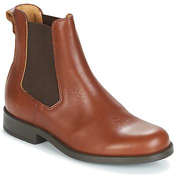Boty Ženy Kotníkové boty Aigle ORZAC W 2 Zlatohnědá